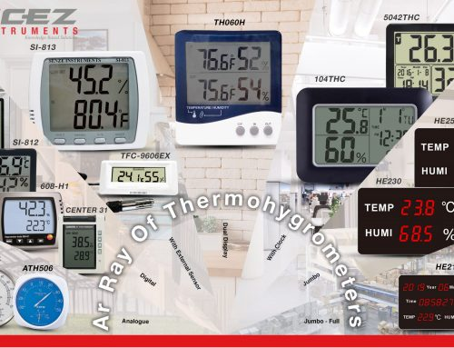 Product News: Ar Ray of Thermohygrometer